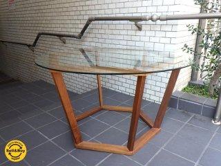 アジム Ajim carcassa table カルカッサ ミドル センター テーブル ヘキサゴン 直径 100cm■