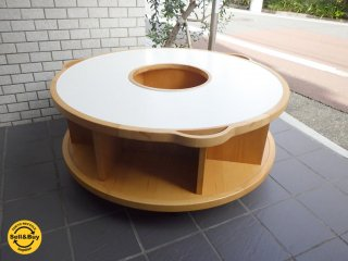 ACTUS KIDS MUSEUM アクタス キッズ ミュージアム ラウンド テーブル 知育家具 ■