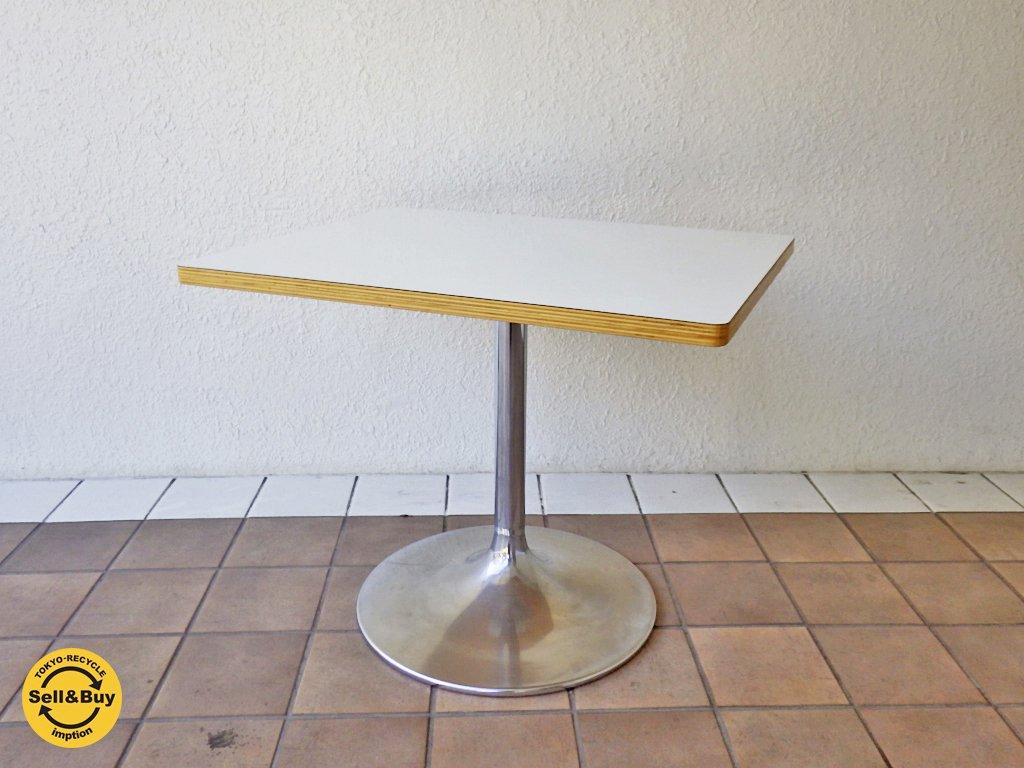 D&DEPARTMENT / ディーアンドデパートメント  廃盤 ラッパ脚 旧サイズ  『 オリジナルカフェテーブル 』  ◇