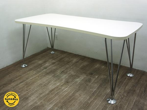 イタリア Kartell カルテル社製 MAXテーブル w160cm 固定脚 ◇