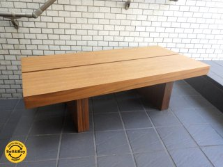 moda en casa モーダ・エン・カーサ cafe 125 coffee table リビングテーブル ウォールナット ■