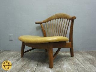 BC工房 無垢材 ゆったりもとい椅子 あぐら・低座椅子 ◇