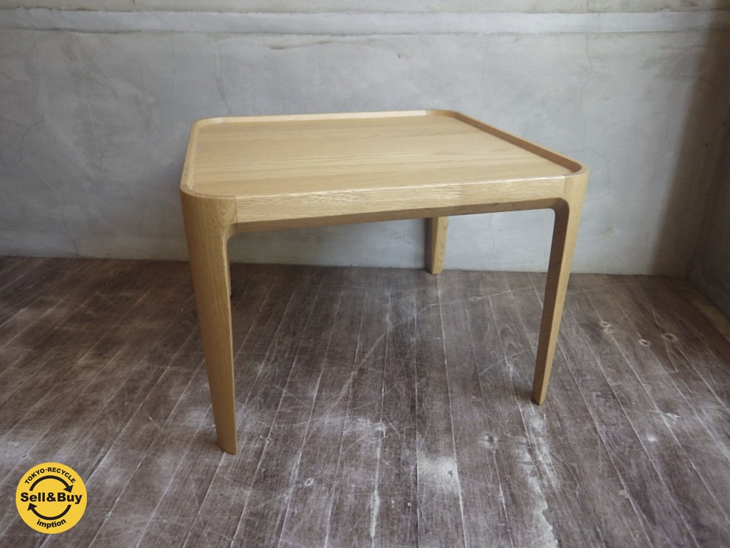 CONDE HOUSE カンディハウス チャレンジ シリーズ リビング コーヒーテーブル 50×50 サイドテーブル ローテーブル ♪