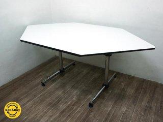 USM Haller ハラーシステム キトス デスク テーブル w176  ●