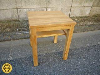 MUJI 無印良品 タモ材 サイドテーブル ベンチ ◎