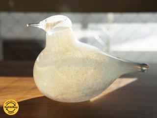 """iittala イッタラバード """"Little tern"""" コアジサシ 廃番ホワイト ●"""
