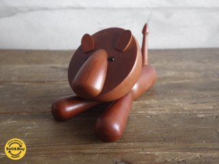 ROYALPET ロイヤルペット / 木製玩具 LION ライオン ♪