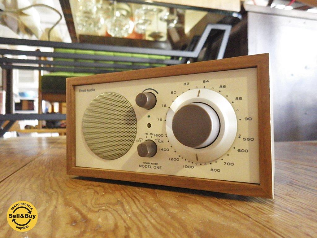 Tivoli Audio チボリ オーディオ Model one AM/FM テーブルラジオ クラシックウォールナット ベージュ ◇