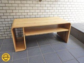 KEYUCA ケユカ タモ材 プライウッド ラナクラスタ コーヒーテーブル ローテーブル ■