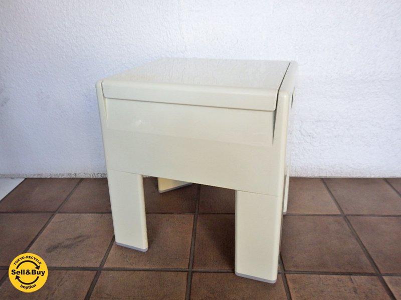 GEDY BOX STOOL ゲディ ボックス スツール 収納付き ◇