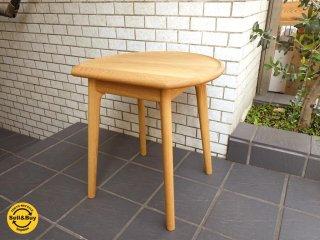 シキファニチア SIKI ユーロ サイドテーブル オーク材  ■