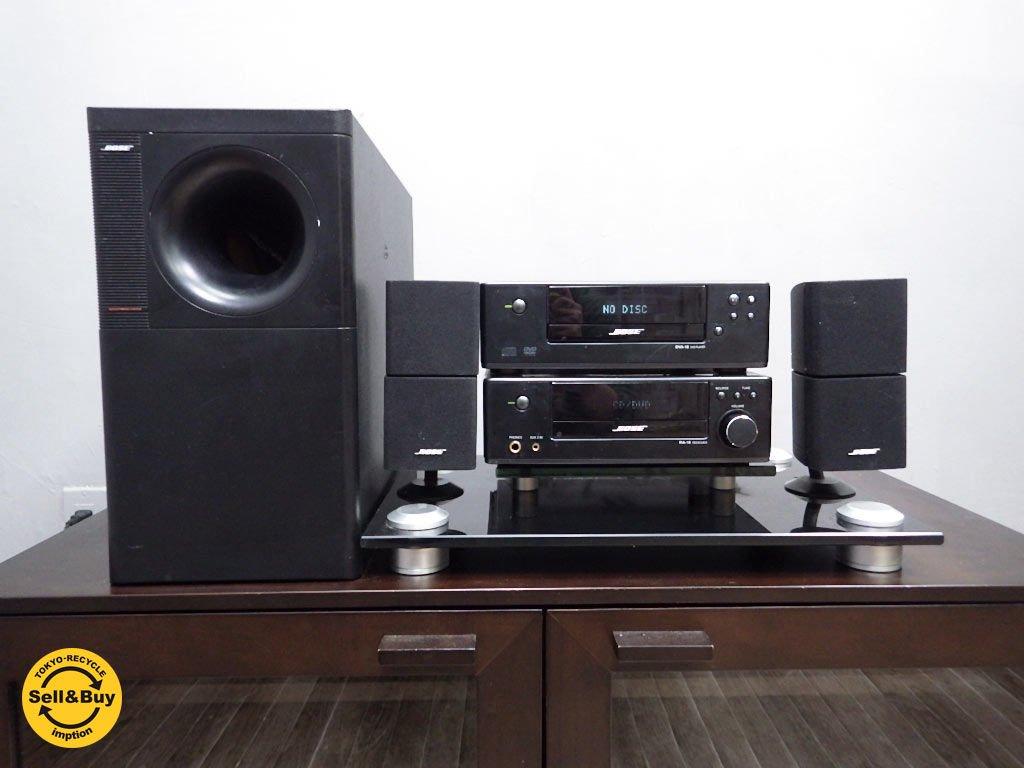 BOSE ボーズ CD DVD プレーヤー 専用スタンド 付き AM-5� RA-18 DVA-18 GMS-1 ●