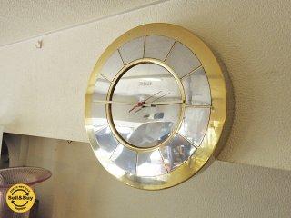 ハワードミラー / Howard Miller ビンテージ 壁掛け時計  Model No.622-701 ◇