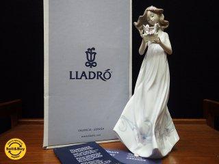 リヤドロ LLADRO #6777 私の宝物 フィギュリン 陶器 人形 置物 箱付 ●