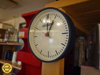 BISLEY ビスレー 壁掛け時計 20cm径 BISLEY CLOCK ブルー ◎