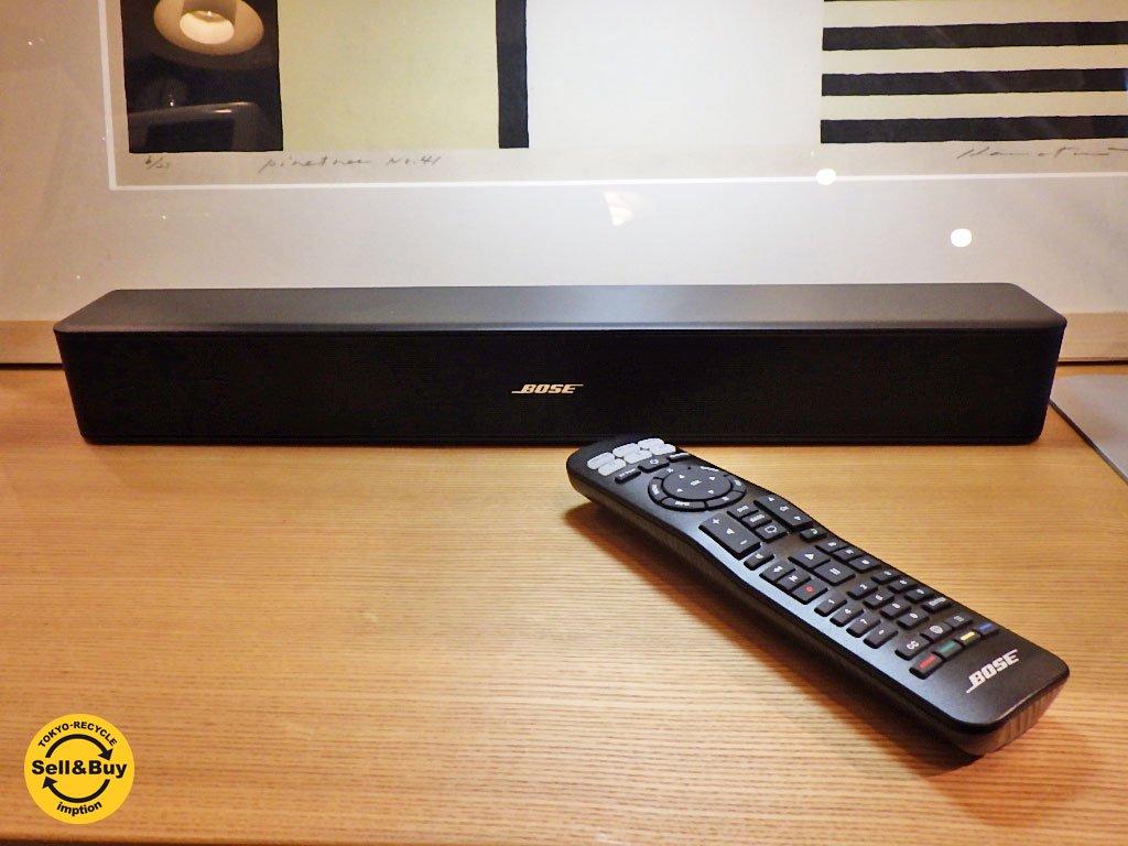 17年1月購入 保証約1年付 Bose ボーズ Solo 5 TV sound system サラウンドスピーカー リモコン 取扱説明書 ■