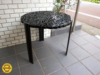 カルテル Kartell T-Table サイドテーブル Black パトリシア・ウルキオラ ■