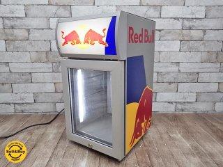 レッドブル REDBULL  ショーケース型 ミニ冷蔵庫 販売促進用 ●