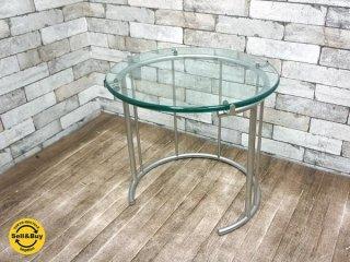 フクラ HUKLA TMRC ガラス製 リビングテーブル Sサイズ サイドテーブル ●