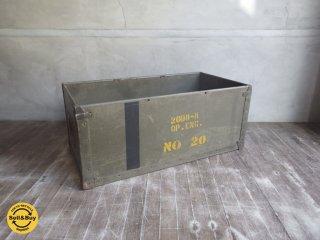 アメリカ US ナンバリング ミリタリーボックス Air Force エアフォース 木製 取っ手付き ♪