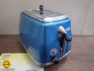 デロンギ DeLonghi アイコナ icona コレクション ポップアップトースター ブルー ●