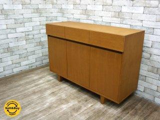 ウニコ unico  コルソ CORSO オーク材 サイドボード 希少廃盤 ●