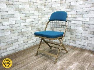 パシフィックファニチャー  取扱 クラリン CLARIN 米国   折り畳みチェア Folding chair ブックフォルダー付  ◇