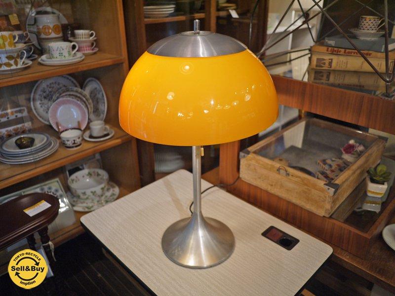 70's ヴィンテージ スペースエイジデザイン フロアランプ テーブルランプ◎