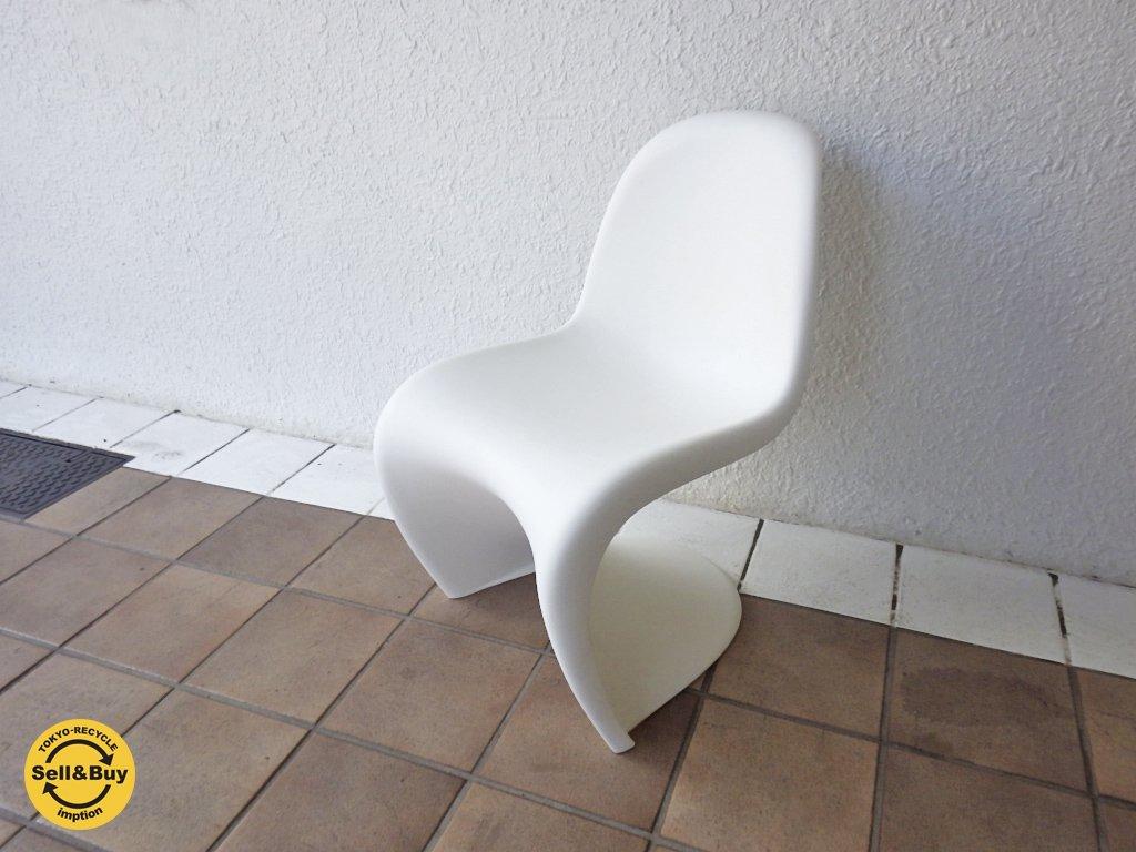 ヴィトラ vitra  パントンチェア キッズ Panton Chair  ホワイト ヴェルナー・パントン Verner Panton ◇