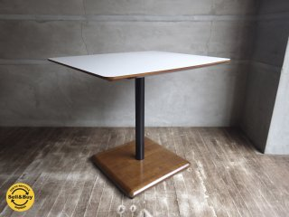 カリモク60+ カフェテーブル ラバートリー材 ♪
