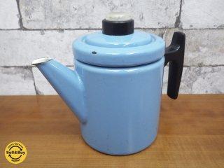 フィネル FINEL ビンテージ コーヒーポット 60s ブルー Anti Nurmesniemi デザイン ●