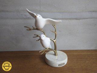 鳥 バード 陶器 オブジェ BIJAN BAHAR ビヤン バーハ— 氏 デザイン ♪