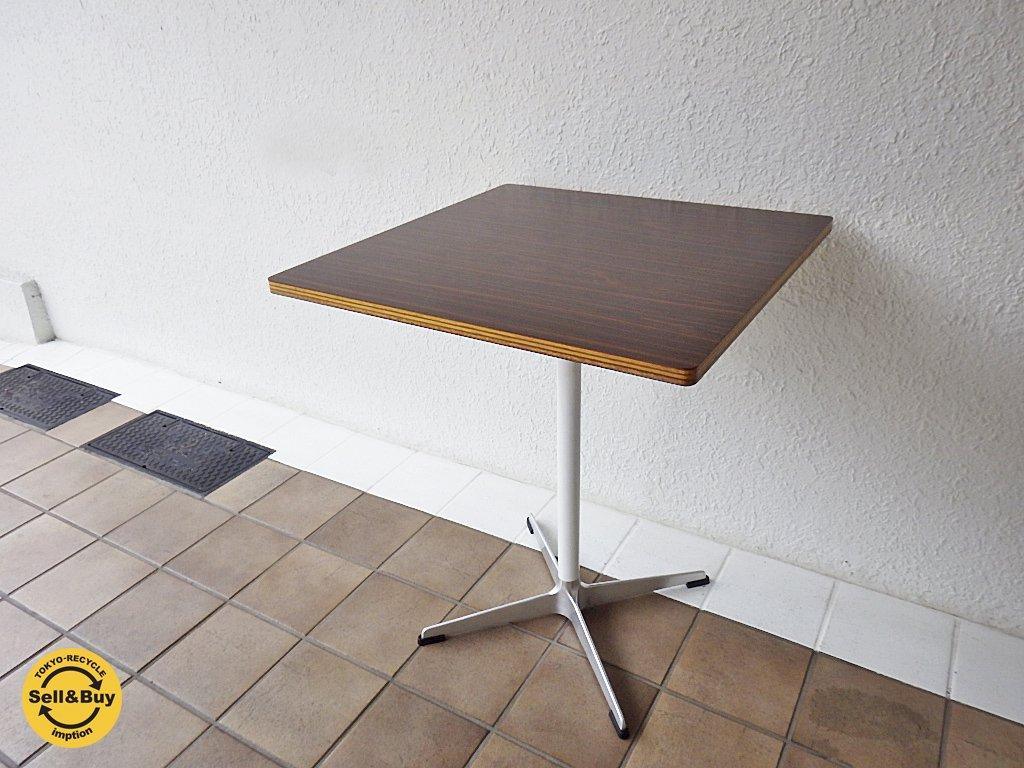 モダニカ/ MODERNICA ローズウッド天板 カフェテーブル ◇