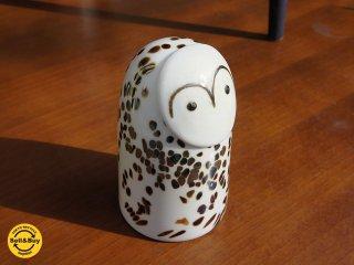 "iittala イッタラバード "" Snow Owl "" シロフクロウ 2013年 ストックマン限定 H16cm オイヴァトイッカ ●"