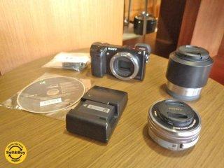 ソニー SONY デジタル 一眼 カメラ NEX-7 SELP1650 SEL50F18 別売り2種類 レンズ付 美品 ◇
