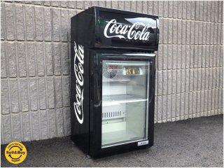 コカ・コーラ Coca-Cola 2015年式 Haier製 『 卓上 ショーケース ( ミニ冷蔵庫 / クーラーボックス ) 黒 』 LEDライトアップ! 稼働OK!! 非売品・販促グッズ!!! ★