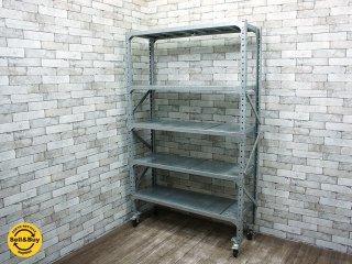 ダルトン DULTON ガルバナイズドシェルフ Galvanized shelf シングル a ●
