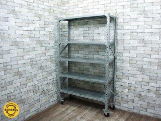 ダルトン DULTON ガルバナイズドシェルフ Galvanized shelf シングル b ●