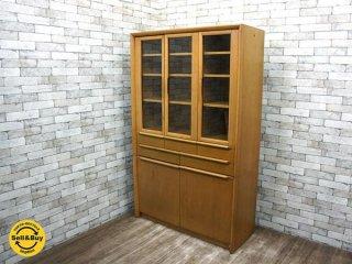 コスガ KOSUGA ミラノシリーズ MILANO カップボード 食器棚 ホワイトウォールナット ●