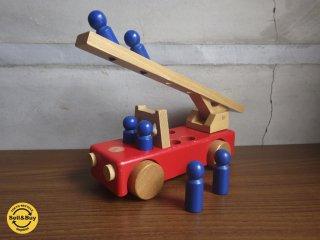 ケラー社 Konrad Keller 木製玩具 消防車 ドイツ ♪