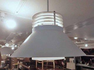 ヤマギワ yamagiwa VEKSO ペンダントライト 照明 ホワイト デンマーク製 ●