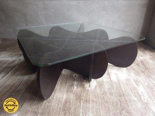 イーアンドワイ E&Y / マトリックステーブル MATRIX TABLE  Sサイズ プライウッド ダークブラウン ♪
