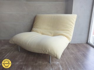 <img class='new_mark_img1' src='//img.shop-pro.jp/img/new/icons20.gif' style='border:none;display:inline;margin:0px;padding:0px;width:auto;' />リーンロゼ ligne roset / カラン CALIN 1P 1シーターソファ ギャッジ付き 張込みタイプ デザイン:パスカル・ムールグ PASCAL MOURGUE a ♪