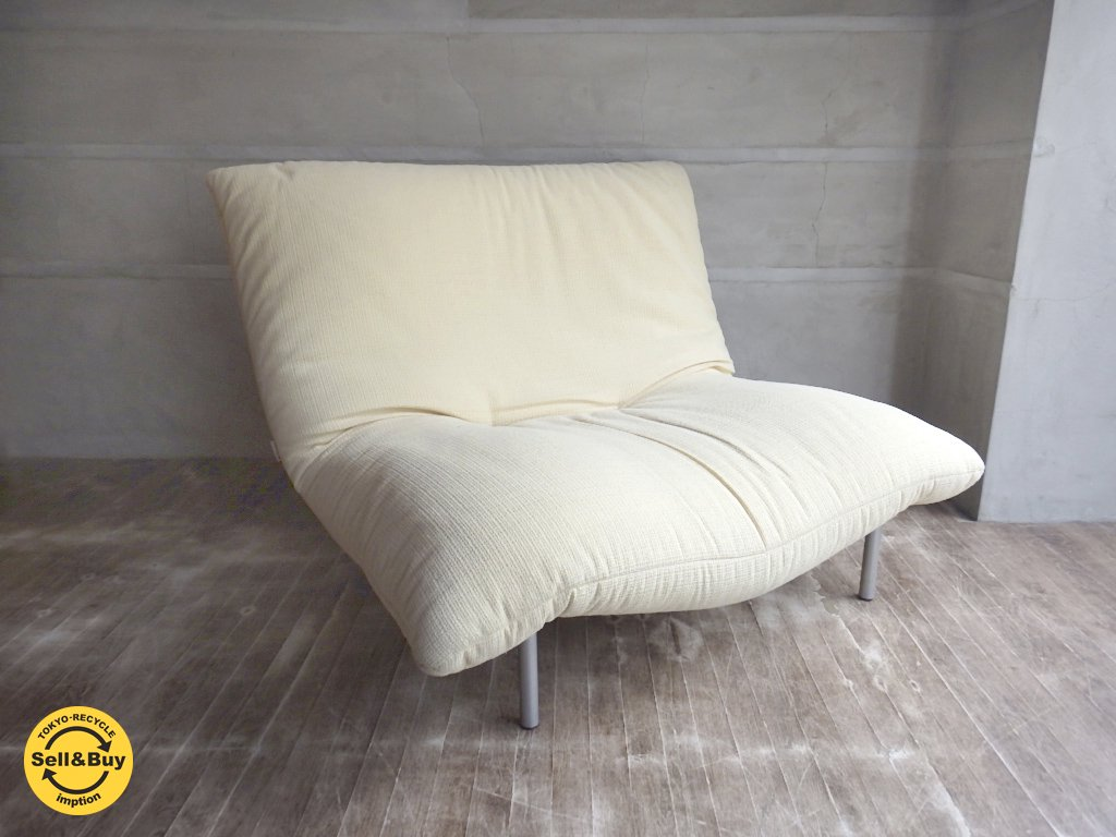 <img class='new_mark_img1' src='https://img.shop-pro.jp/img/new/icons20.gif' style='border:none;display:inline;margin:0px;padding:0px;width:auto;' />リーンロゼ ligne roset / カラン CALIN 1P 1シーターソファ ギャッジ付き 張込みタイプ デザイン:パスカル・ムールグ PASCAL MOURGUE b ♪