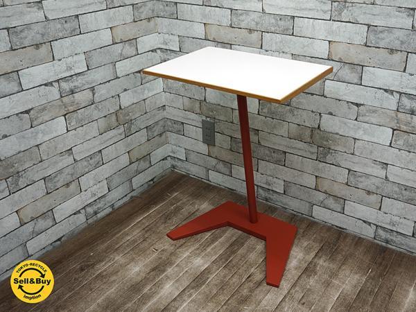 ポストモダン コの字サイドテーブル スモールデスク 片持ちテーブル シンプルデザイン ●