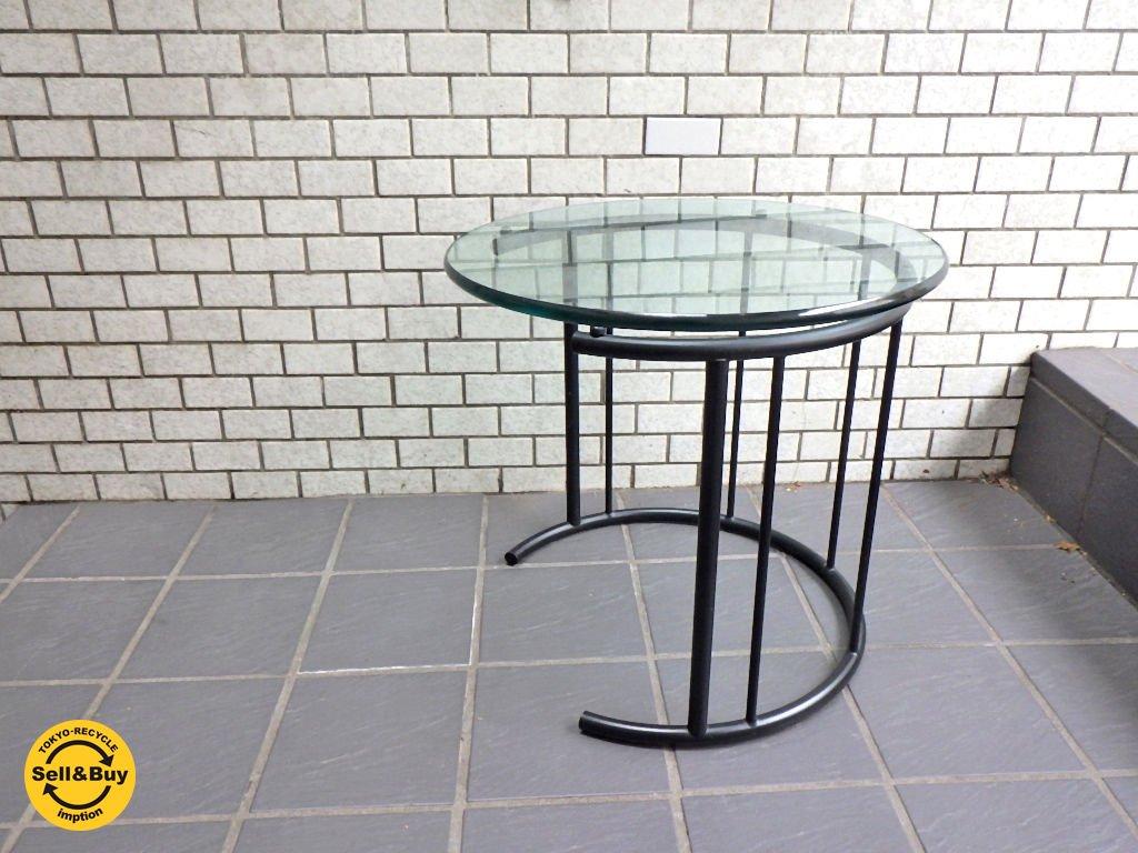 フクラ HUKLA TMRC ガラス製 リビングテーブル Sサイズ サイドテーブル ■