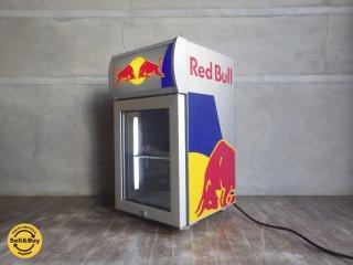 レッドブル RED BULL ショーケース型 ミニ冷蔵庫 販売促進用 ♪