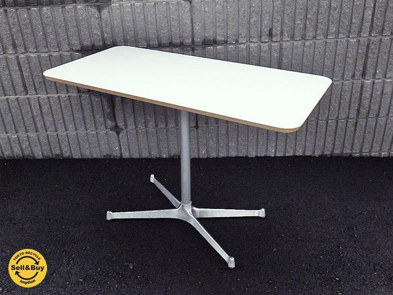 モモナチュラル / Momo Natural 『 カフェテーブル / CAFE TABLE 』 rectangle top × XR LEG SILVER ★