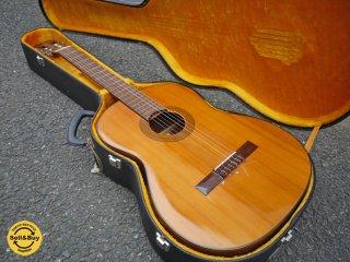 松岡良治 Ryoji Matsuoka 手工芸 クラシックギター 第十五号 単板 ビンテージ ハードケース付属 ◎