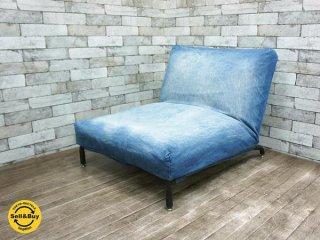 ジャーナルスタンダードファニチャー Journal Standard Furniture ロデ RODEZ ソファ カバーリング 替えカバー付き デニム コーデュロイ A ●